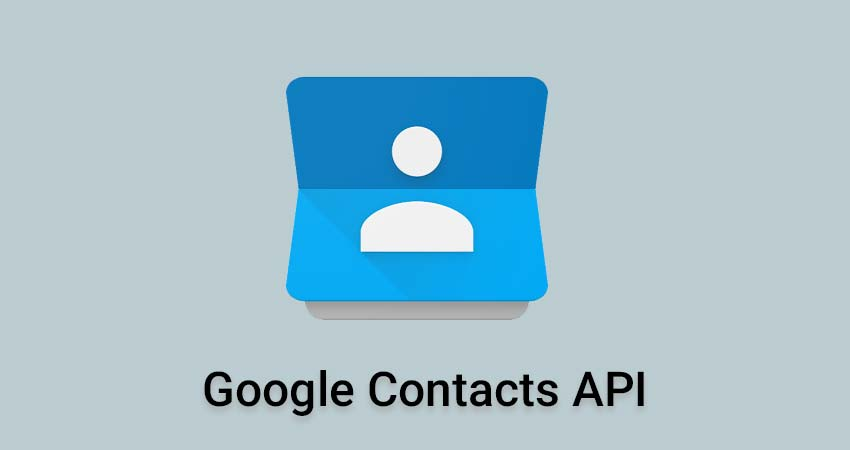 Google Contacts API