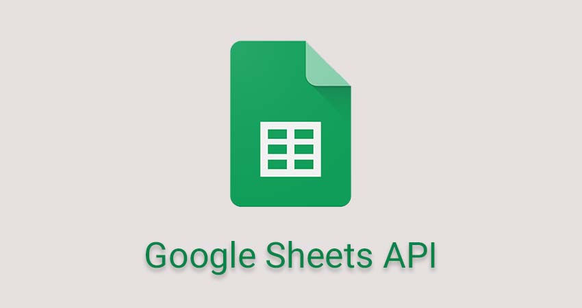 Google Sheets API