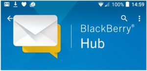BlackBerry hub