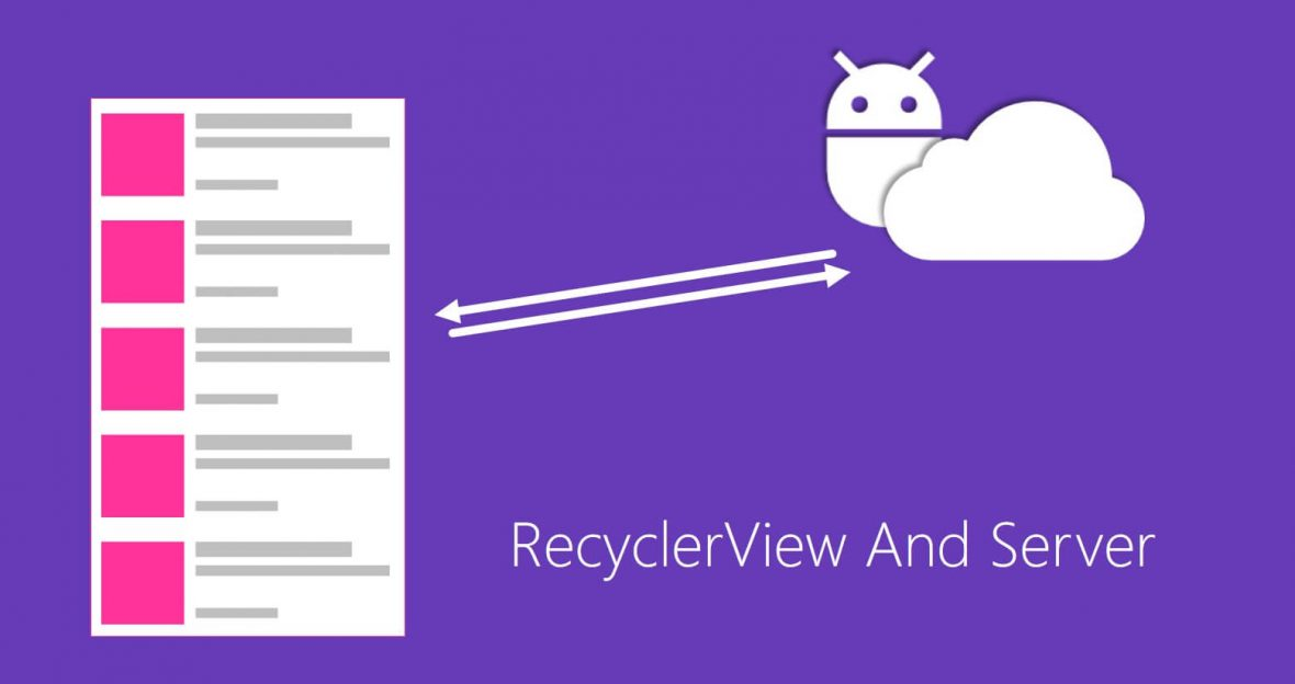 اتصال RecyclerView به سرور