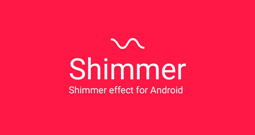 Shimmer - بنر